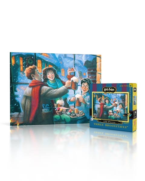 【KANGA GAMES】拼圖 哈利波特迷你拼圖 - 三把掃帚客棧 Harry Potter Mini Puzzle - Three Broomsticks 100片