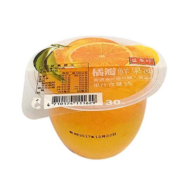 盛香珍鮮果凍(橘瓣)180g【寶雅】