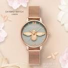 小蜜蜂輕奢小眾手錶女士時尚名牌簡約氣質學生款防水ins風dw 設計師生活百貨