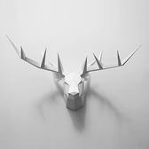 正版匠紙_DIY材料包_手作_3D紙模型_禮物_極簡鹿頭壁飾