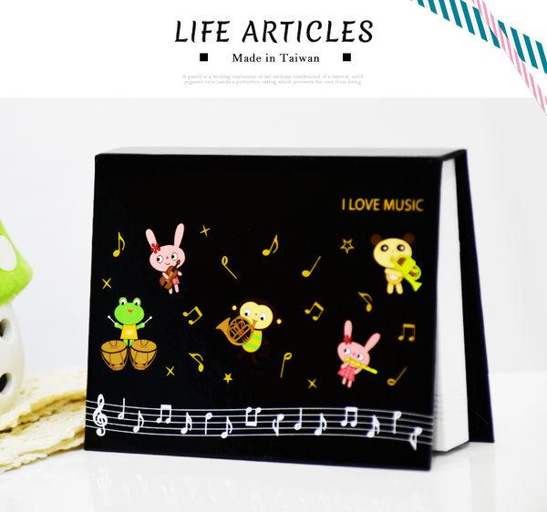 【小麥老師 樂器館】便利貼 音樂 便條紙 台灣製 K077F 音樂便利貼 (一本40張)【A674】