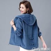 短版外套 外套女春秋2021年新款秋季燈芯絨上衣韓版寬鬆女士短款夾克 榮耀