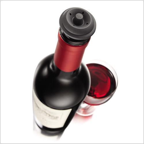 《VACU VIN》抽真空酒瓶塞(黑2入)