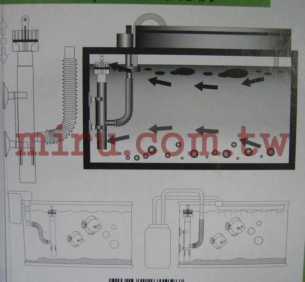 【西高地水族坊】水族先生 Mr.Aqua 油膜處理器(多功能型)
