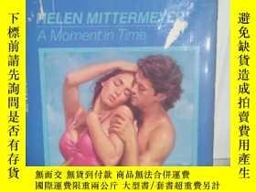 二手書博民逛書店A罕見Moment in time 英文原版口袋書Y109818