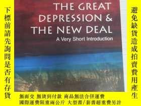 二手書博民逛書店The罕見Great Depression and the Ne