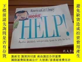 二手書博民逛書店AMERICAN罕見GIRL LIBRARY MORE HELP