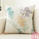 抱枕套家用沙發靠墊簡約靠背正方形枕套不含芯【匯美優品】