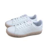 adidas ADVANTAGE 網球鞋 運動鞋 白/粉紅 女鞋 FY6032 no907