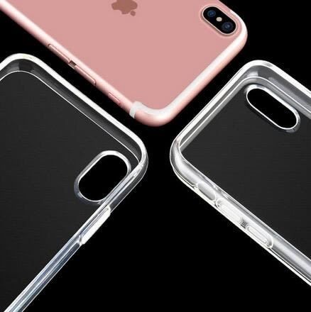 【SZ34】iPhone X 手機殼 簡約透明矽膠軟殼 全包防摔 iPhone X 手機殼