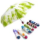 《真心良品》2364輕量超潑水光豔印花自動傘