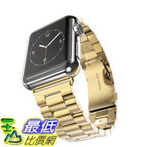 [105美國直購] 蘋果錶帶 Arteck Stainless Steel Strap Wrist Metal Apple Watch Band Replacement Metal Clasp for iWatch
