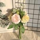 假花 網紅玫瑰花束仿真花干花家居客廳臥室裝飾花拍照道具假花餐桌擺件 美物
