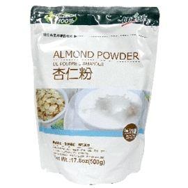 健康時代 100%天然無糖杏仁粉 500g 一包 杏仁粉