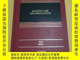 二手書博民逛書店Banking罕見Law And Regulation【銀行法及