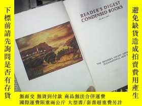 二手書博民逛書店READER S罕見DIGEST CONDENSED BOOKS 1973 VOL 5 《讀者文摘》1973年第5