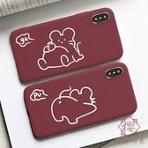 手機殼適用一加6t oppo紅k3華為p30暢享8小米5s【櫻田川島】