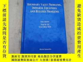 二手書博民逛書店Boundary罕見Value Problems, Integral Equations and Related