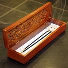 花梨木線香盒