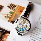 日本名古屋出差帶回純手工手細表帶復古生日禮物日系女表女生手表【潮男街】