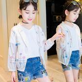 薄外套 2018新款童裝兒童夏季外出防曬衣 GY1222『寶貝兒童裝』