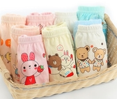 全館83折小青龍幼兒童男童女童寶寶內褲女1-3歲純棉小童小孩三角面包短褲