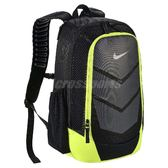 Nike 後背包 Vapor Speed 黑 灰 螢光綠 Max Air 氣墊背帶 包包 男女款 【PUMP306】 BA5247-010