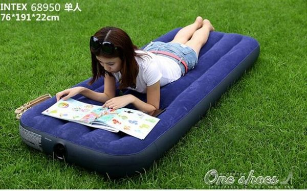 充氣床墊充氣床家用單人氣墊床雙人午休戶外床充氣墊午睡床  one shoes igo