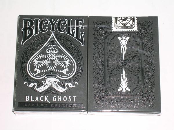 【USPCC 撲克】Legacy black ghost Playing Cards 頂級黑幽靈