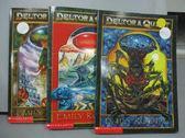 【書寶二手書T3/原文小說_OBS】Deltor a Quest_2~4集間_共3本合售_Emily Rodda