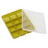 Mathos Loreley萱之愛 - 矽膠副食品分裝盒 25g/12格 橄欖綠