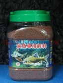 【西高地水族坊】KAREN 溪魚專用飼料(石斑魚,苦花,溪哥,黑尾冬)(大、小粒)(1kg)