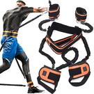 全身抗阻力帶+舉重腰帶.爆發力綁腿彈力帶.拳擊拉力帶.肌肉乳膠彈力繩.彈跳力彈力帶.自主重量