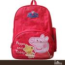 【Peppa Pig 粉紅豬】佩佩豬護脊書包192C(冰淇淋/泰迪款_PP-5739)佩佩豬