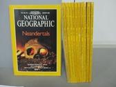 【書寶二手書T7/雜誌期刊_KGW】國家地理雜誌_1996/1~11月合售_Neandertals_英文版