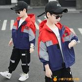 童裝男童外套春裝2021新款兒童韓版中大童夾克上衣洋氣春秋款潮衣【小橘子】