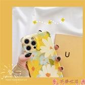 清新油畫花朵適用iPhone12promax蘋果11手機殼87plus女xr防摔x/xs 芊墨 上新