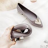 雨鞋女時尚款外穿夏防滑短筒平底雨靴水鞋防水低幫尖頭時尚果凍鞋