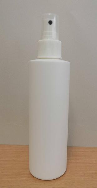 YT店【HDPE塑膠容器】250cc+噴頭/ 噴瓶 噴霧瓶 分裝瓶【台灣製MIT】可用來裝酒精及次氯酸水