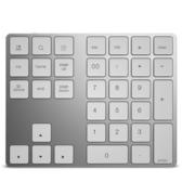 無線小鍵盤帶藍牙蘋果筆記本電腦通用USB外接超薄便攜有線碼字會計財務銀行密碼免切換可充電
