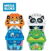 【奇哥】MEGA BLOKS 費雪美高 動物造型大大積木桶 (隨機出貨)