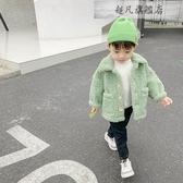兒童外套 兒童外套秋冬裝新款加絨加厚男童上衣韓版寶寶洋氣潮嬰兒衣服-超凡旗艦店