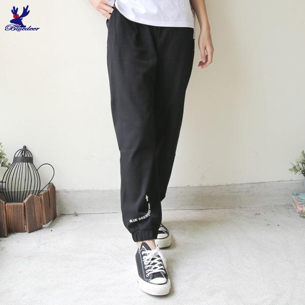 【三折特賣】American Bluedeer - 鬆緊運動褲 秋冬新款