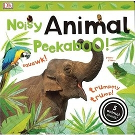 【動物聲音書】NOISY ANIMAL PEEKABOO! /翻頁聲音書
