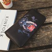 韓版時尚長款錢包百搭簡約休閒手拿包情侶錢夾女包【非凡上品】h481