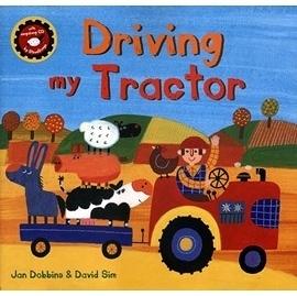 【麥克書店】DRIVING MY TRACTOR /英文繪本附VCD《主題:顏色/ 動物/ 交通工作/ 農作物》