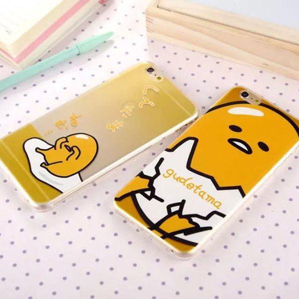 【紅荳屋】超萌蛋黃哥雞蛋仔超薄TPU 蘋果6手機套 i5/5S i6 6Plus 保護套