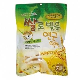 NAEBRO 米糕爆米花-蓮藕口味(7個月以上適用)40g
