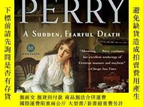 二手書博民逛書店A罕見Sudden, Fearful Death: A Char