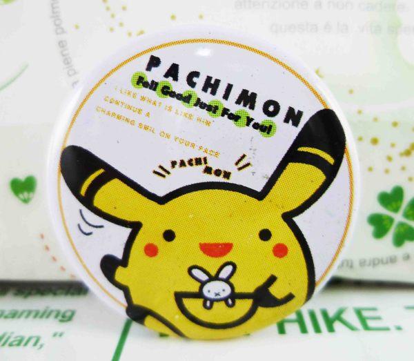 【震撼精品百貨】神奇寶貝_Pokemon~別針-皮卡丘(白)